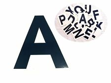 LARGE Self ADHESIVE 120x150mm Initial Alphabe LETTER Vinyl STICKER Decal LABELS