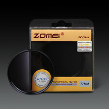 ZOMEI 52/55/58/62/67/72/77/82mm Graduated Gradual ND4 Filter For Hoya SLR lens