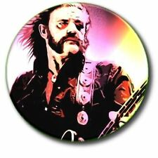 "LEMMIE/ MOTORHEAD/ HEAVY METAL/ 1970'S/ 1980'S/ 25 MM/ 1 "" BUTTON BADGE"