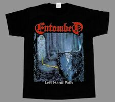 ENTOMBED LEFT HAND PATH'90 NIHILIST UNLEASHED EDGE OF SANITY BLACK T-SHIRT