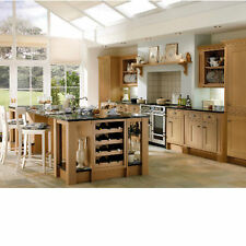 "Howdens - Ex-Display Haworth Oak ""In-Frame"" Kitchen Units and Doors"