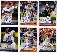 2014 Topps Stadium Club Auto Autograph Rookie Card RC You Pick Finish Your Set