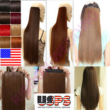 High Quality 100% True Grade A Clip In Remy Human Hair Extensions One Piece F482