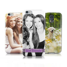 CREATE YOUR OWN PERSONALISED CUSTOM DESIGN PRINTED PROTECTIVE HARD BACK CASE NEW