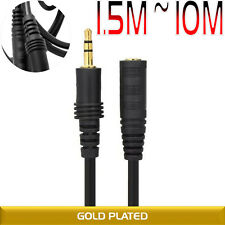 3.5mm Male To Female AUX Stereo Audio Headphone Extension Cable For iPod MP3 MP4