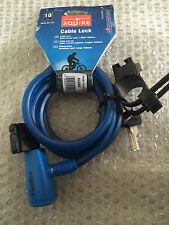 Squire 116 10mm x 1800mm Bike Bicycle Security Key Cable Lock  RRP £11.99