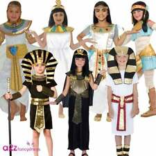 KIDS BOYS GIRLS EGYPTIAN CLEOPATRA PHARAOH QUEEN BOOK DAY FANCY DRESS COSTUME