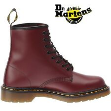 DM Docs Dr Martens Airwair 1460Z cherry red 8 eyelet non-safety boot size 3-13
