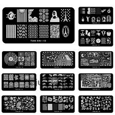 Nail Art Steel Plate Image Stamp Manicure Template Stamping Plates Nail DIY Tool