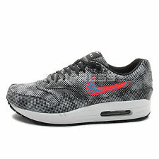 Nike Air Max 1 FB QS [744491-001] NSW Running Hypervenom Phantom Black/Crimson