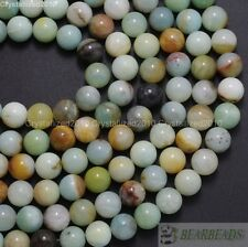 Natural Colorful Amazonite Gemstone Round Beads 4mm 6mm 8mm 10mm 12mm 14mm 16''