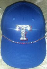 Texas Rangers Women's Rhinestone Bling MLB Baseball Cap Hat ~NEW~