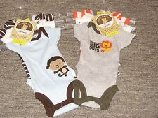 Carter's Child of Mine Set of 3 One-Pieces Preemie, 3, 6, 9 Mo Bodysuits