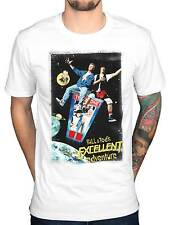 Official Bill And Ted's Excellent Adventure T-Shirt Film Poster Comedy Keanu
