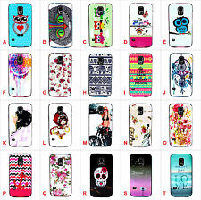 High impact 2in1 Glossy Anti-Shock Soft Plastic Case Cover for various phones