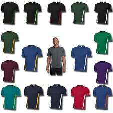 Dry Zone Competitor Colorblock Dri-Fit T-shirts Mens S-4XL LT-4XLT New ST351