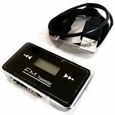 CAR WIRELESS MP3 FM RADIO TRANSMITTER HANDS FREE CAR WIRE FOR LATEST CELL PHONES