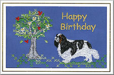 King Charles Spaniel Birthday Card by Dogmania  - FREE PERSONALISATION