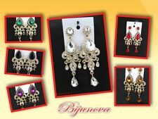 New Earrings Indian Bollywood Costume Jewellery Colours Party Wedding Wear