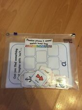 jolly phonics phase 1,2 & 3 sound match busy bag game