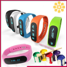 Smart Bluetooth Watch Bracelet Pedometer Step Calorie Counter Sport Tracker