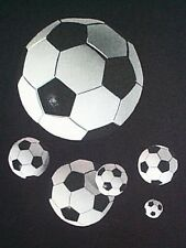 NEW! Adult SOCCER BALL Collage Sports Unisex T-Shirt - Size S - 3X