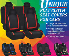 Red Blue Beige Gray & Black Car Seat Covers Fits Most Vehicle