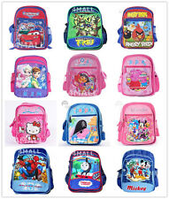 Kid's Boy's Girl's Large Campus Shoulder School Bag Day Care Backpack