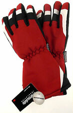 Joe Boxer Boys Red Black Ski Gloves 3M Thinsulate Waterproof Snow Winter Choice