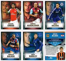 Topps PREMIER CLUB 2014/2015 Base Cards #1-#56 Arsenal/Chelsea/C. Palace/Everton