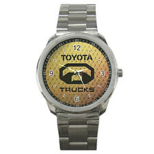 NEW Wrist Watch Sport Analogue Leather Tyota Trucks