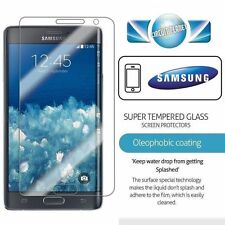 100% Genuine Tempered Glass Screen Film Guard Protectors For Samsung Galaxy