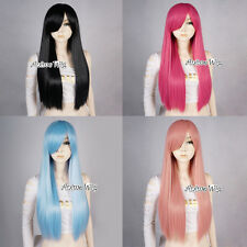 55cm/21 Inches Long Straight Stylish Lady Party Design Anime Cosplay Hair Wig