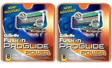 NEW GENUINE GILLETTE FUSION PROGLIDE POWER SHAVING BLADES RAZORS CARTRIDGES 4 8