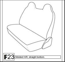 Ford F-Series Front Bench Custom Made Exact Fit Seat Covers Double Stitched F23