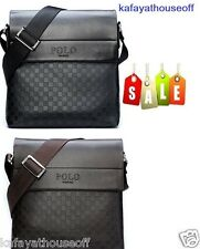 New Arrival Men Polo Videng Messenger Bag Crossbody Shoulder Bag  Faux Leather