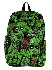 Banned Zombies Green Backpack