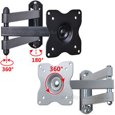 Articulating TV Wall Mount Bracket for Samsung Vizio 22 24 28 29 LED Tilt Swivel