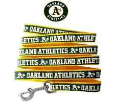 MLB Pet Fan Gear OAKLAND ATHLETICS Sport Leash Leashes for Dog Dogs Puppy