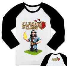 Clash Of Clans APP Game Wizard Pattern Long Sleeve Shirt