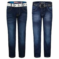 KIDS CLASSIC SKINNY JEANS BOYS BOTTOMS DENIM TROUSERS CASUAL PANTS 5-16 YEARS