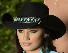 NEW Montecarlo Bullhide GOIN SOMEPLACE SPECIAL Black Wool Western Cowboy Hat NWT