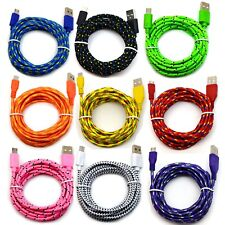 6' Foot Micro USB 2.0 cable For Samsung Galaxy Charging Sync Charger Cord lot