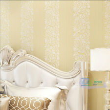 Modern Simple Line 3D Background Wall Wallpaper For Living Room White Beige Grey