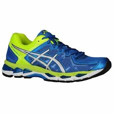 ASICS GEL KAYANO 21 Mens ROYAL LIGHTNING FLASH YELLOW T4H2N 5991 NEW AUTHENTIC
