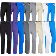 NEW 2015 Adidas Puremotion Stretch 3-Stripes Pant Mens Performance Golf Trousers