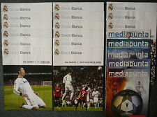Real Madrid Home Programmes 2008 to 2013: Liga, UEFA Champions League, Cup Final