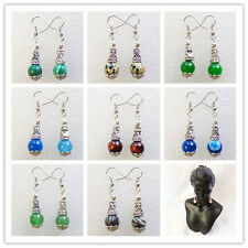 Wholesale!Beautiful Mixed Gemstone Earrings 1Pair or 9Pair XLZ-274
