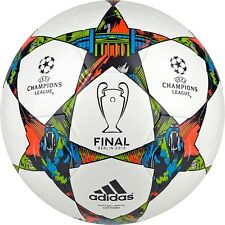 adidas Capitano FINALE UCL BERLIN 2015 Soccer BALL White / Blue / Green New