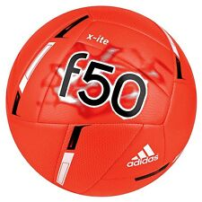 adidas F 50 Xite 2015 Soccer Ball Brand New Coral / Black / White